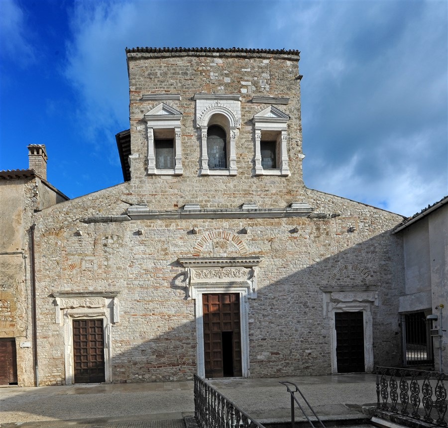 The Basilica of San Salvatore is a very interesting early-Christian building