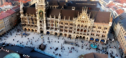 Marienplatz,  il cuore di Monaco... - Secret World