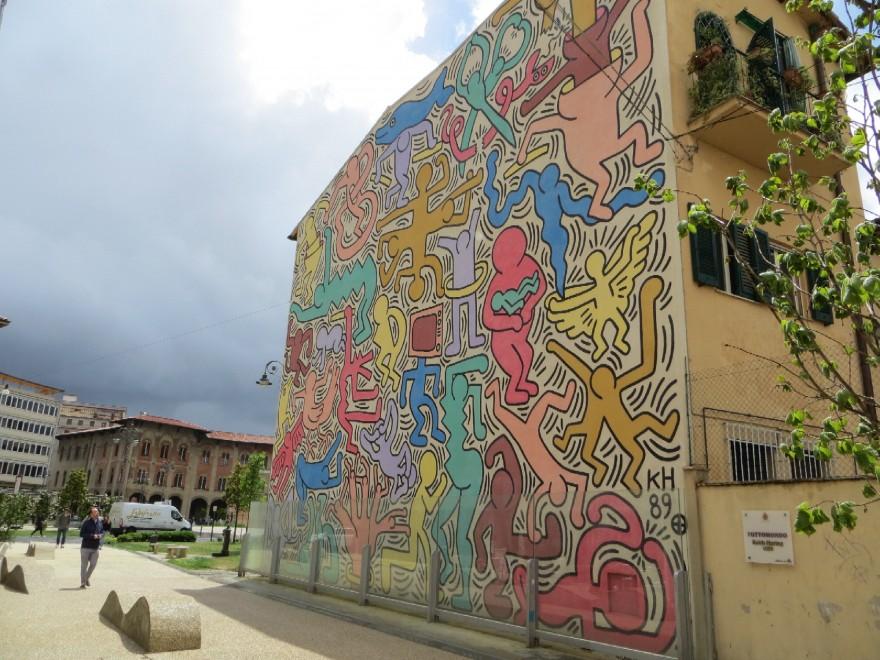 Tuttomondo un Murales di Keith Haring