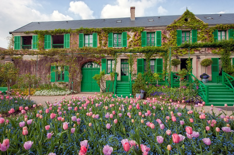 Claude Monet's Home in Giverny