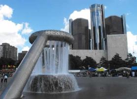 Horace E. Dodge & Son Memorial Fountain... - Secret World