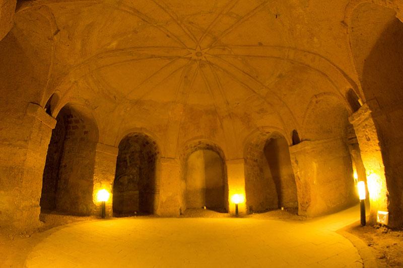 L'ex palazzo della famiglia Trionfi a Camerano