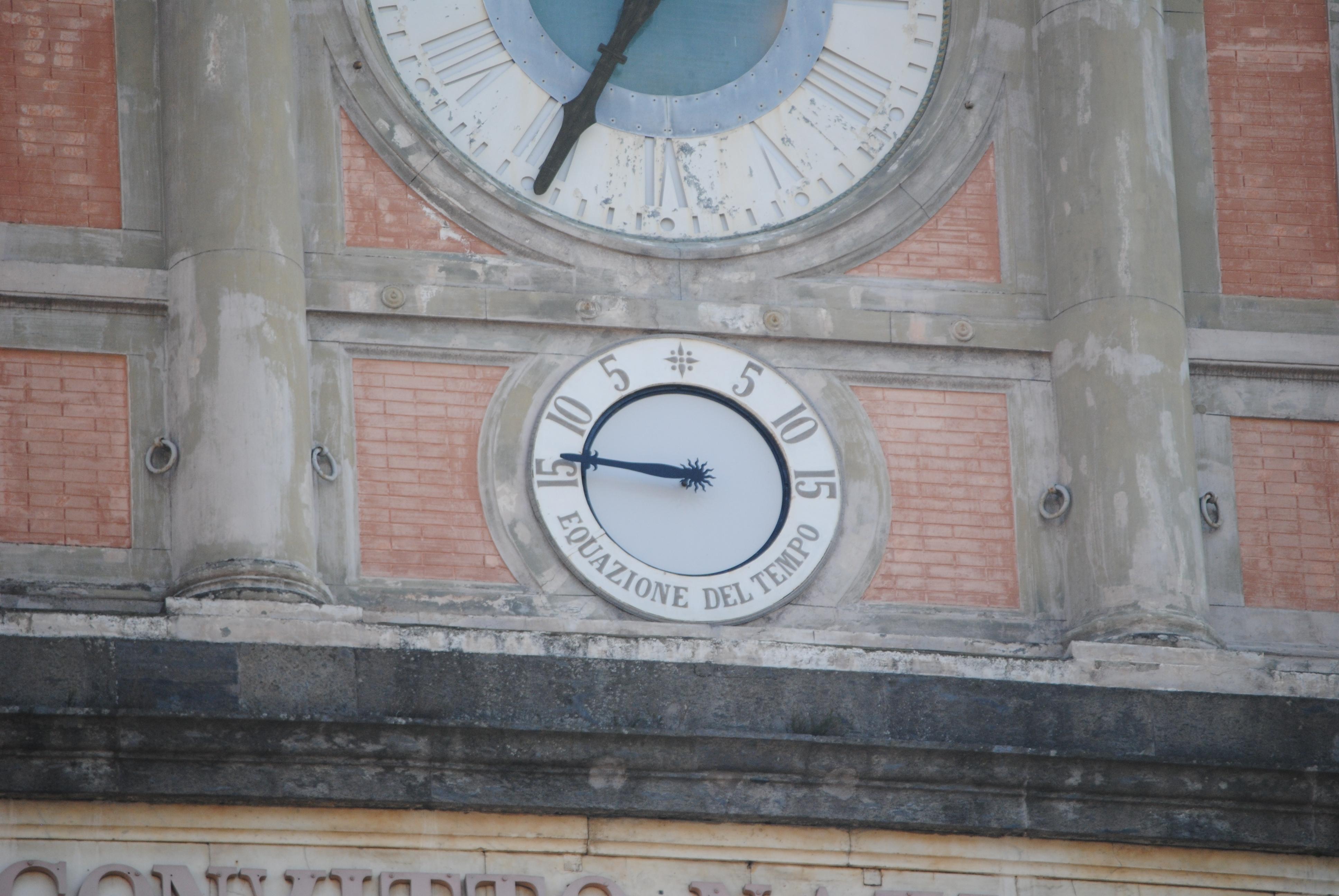 Il raro orologio che segue l'equazione del tempo