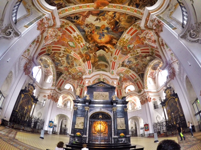 Einsiedeln – a Benedictine Abbey and a Marian Shrine
