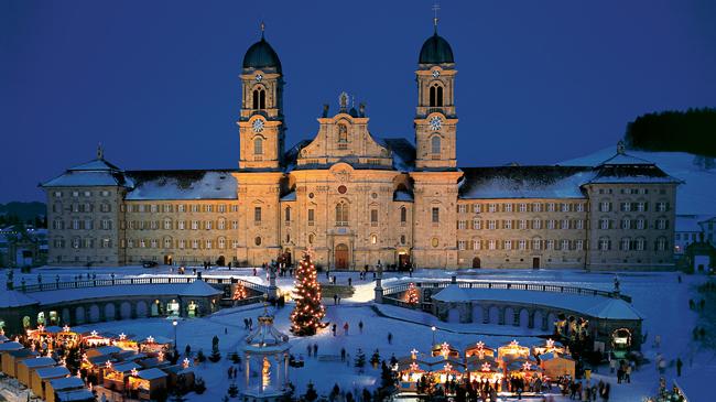 Einsiedeln – a Benedictine Abbey and a Marian Shrine