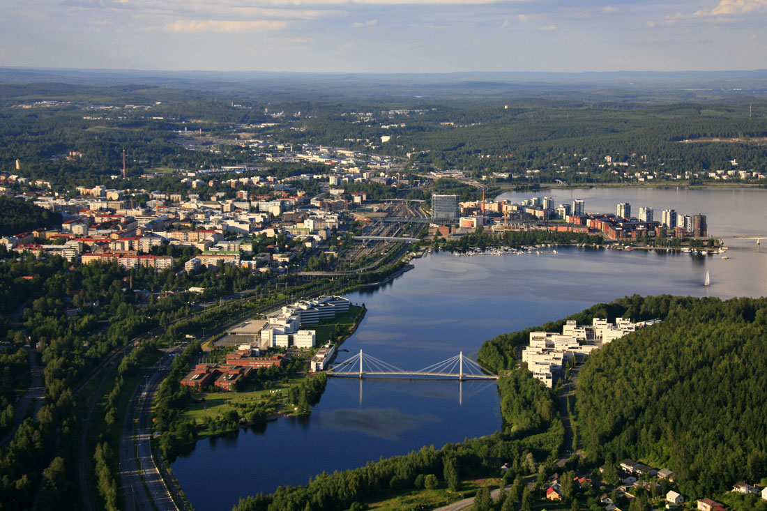 Welcome to the capital city of Alvar Aalto's architecture!