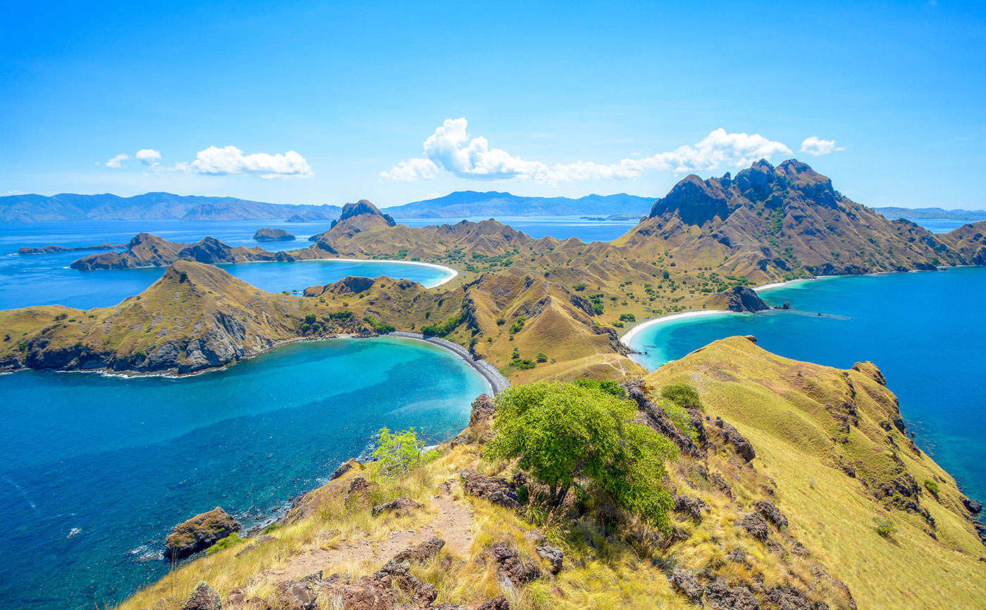 Komodo Island (one of the 17,508 islands that comprise the ...