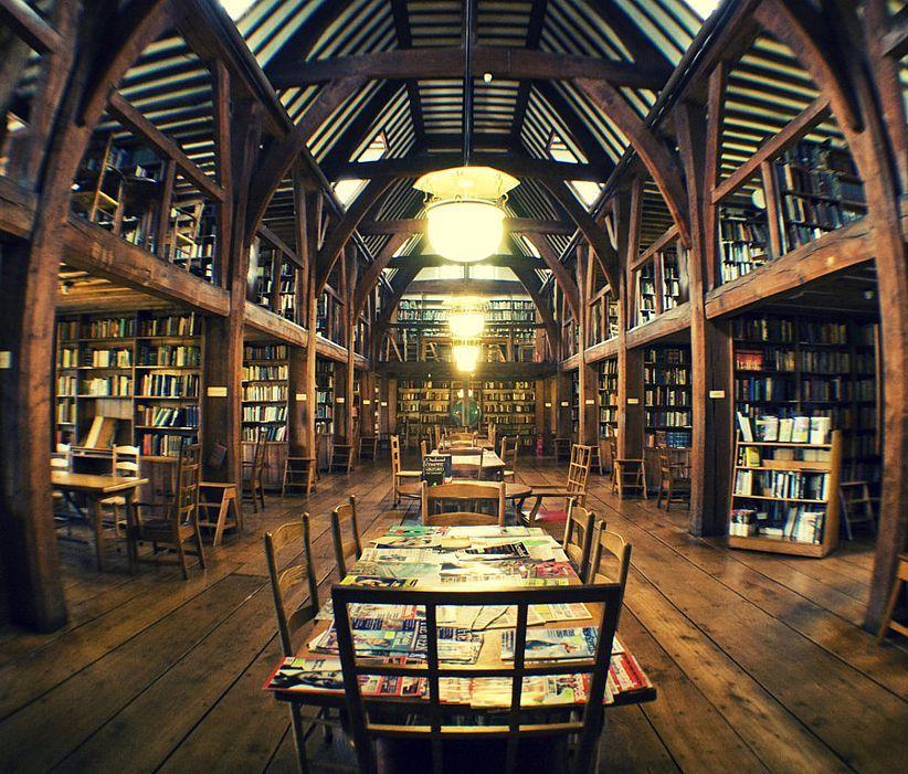 bedales-gedenk-bibliothek-secret-world