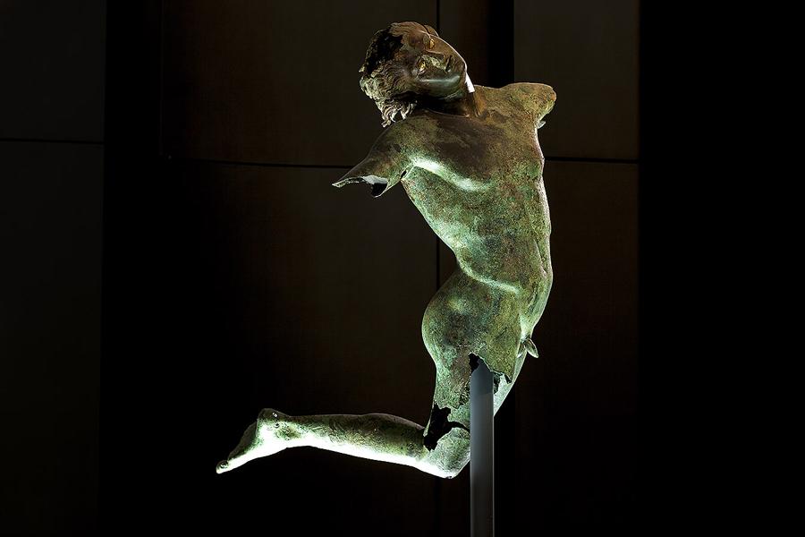 The dancing Satyr - Mazara del Vallo
