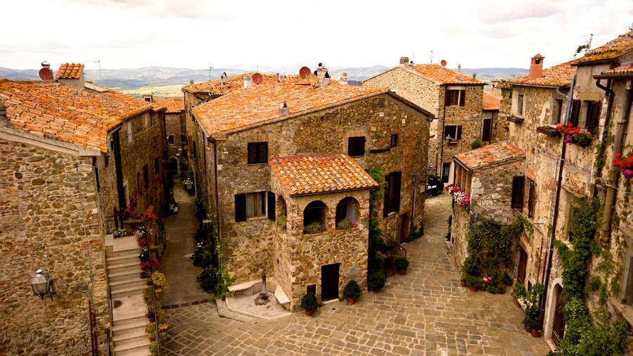 Borgo medievale di Montemerano