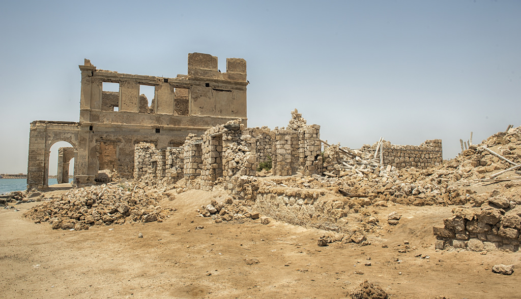 The Ruins of Suakin Island