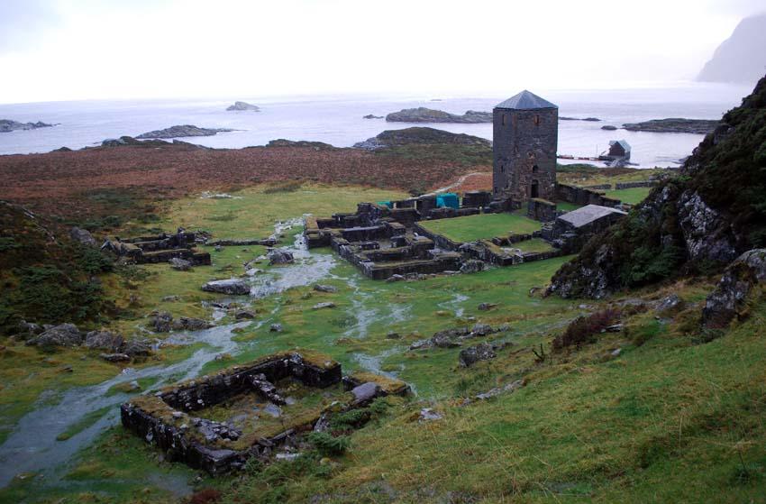 Monastery ruins at Hovedøya