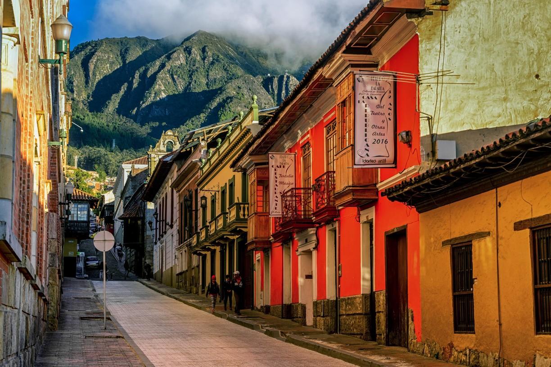 La Candelaria, Bogotà'nın tarihi merkezi... - Secret World