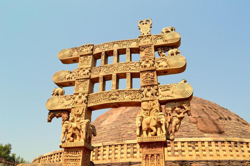 Buddhist Monuments at Sanchi