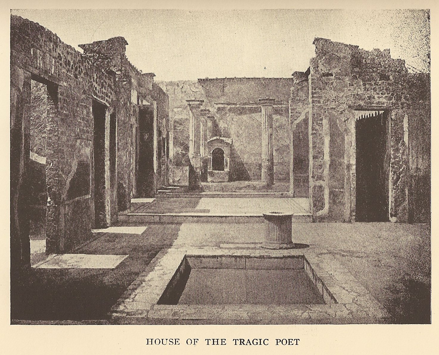 House of the tragic poet