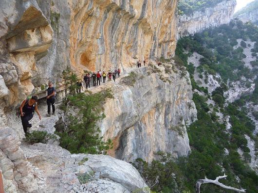 Un trekking da brivido che solo pochi possono fare...