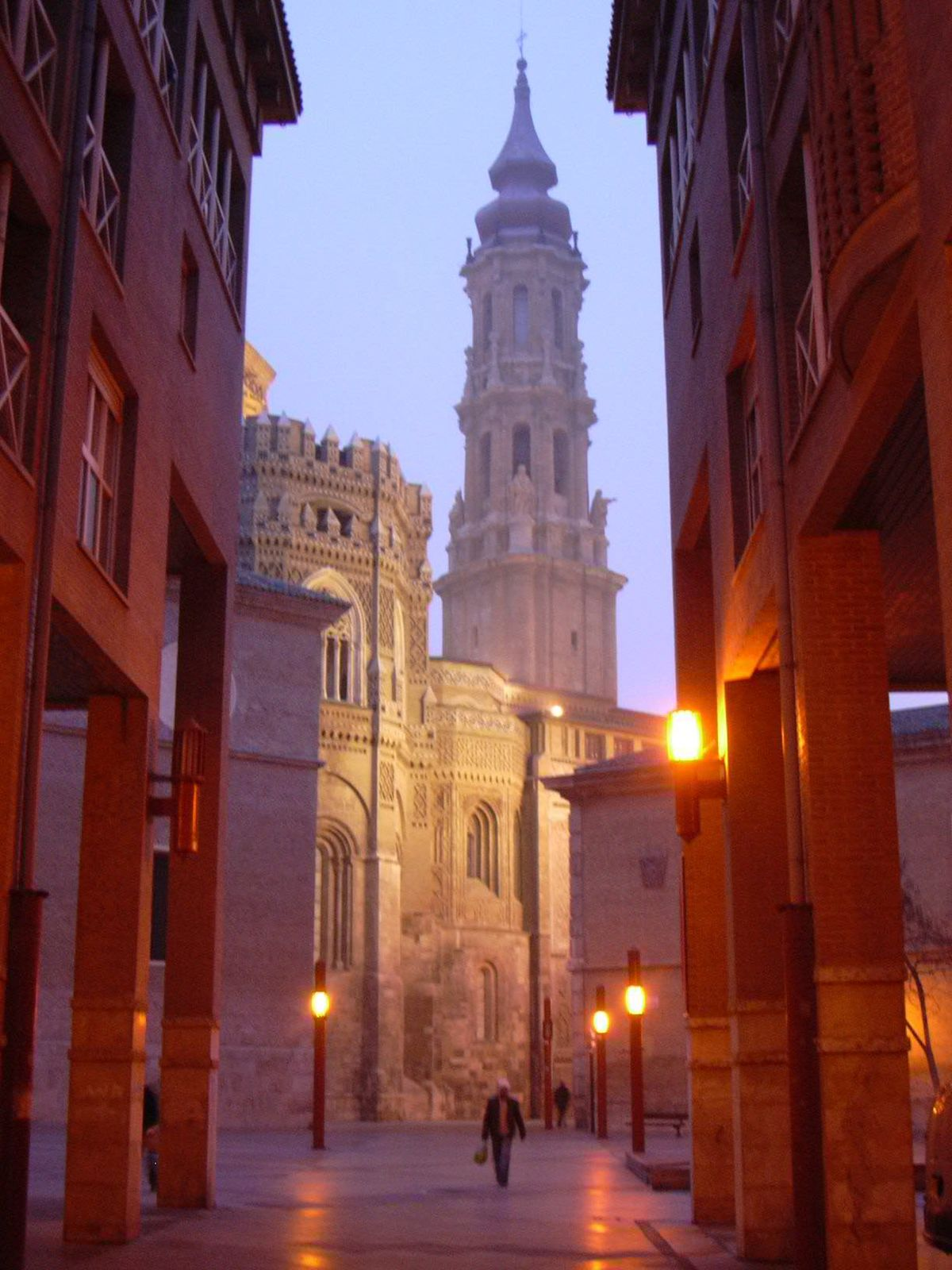 Salvador Cathedral in Saragossa commonly called La Sea...