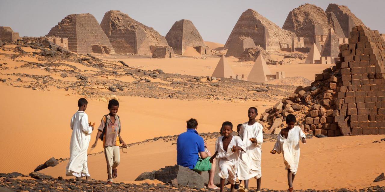 Nubian pyramids the unknown wonder  - Secret World