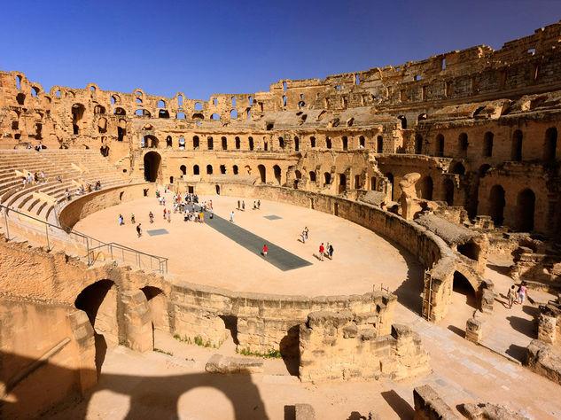 Anfiteatro di El Jem - Meraviglia d'Africa
