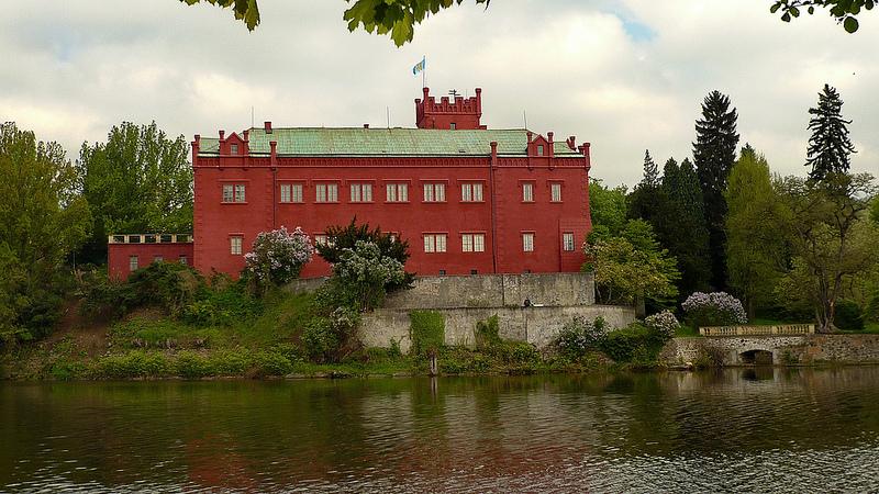 Chateau at Klášterec nad Oh?í