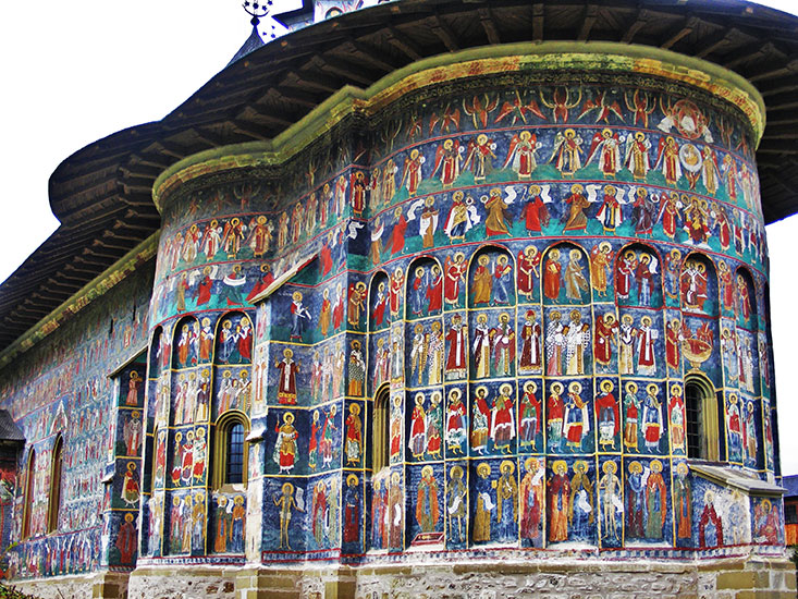 Sucevita Monastery...A big art treasure